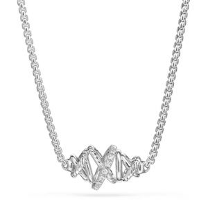 NEW🔥David Yurman Crossover Station Necklace W/ Diamond